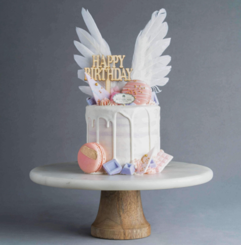 Angel Wing Birthday Cake Delivery